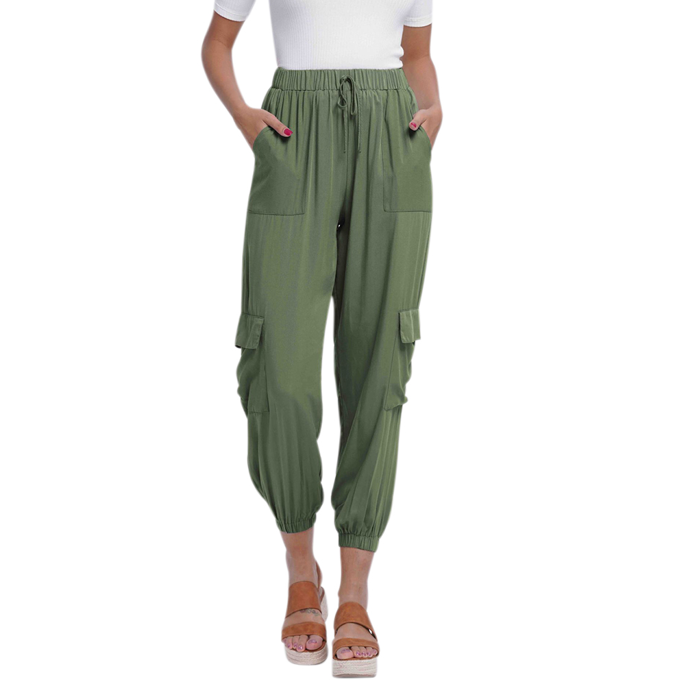 Details about  /Women Casual Slips Pants