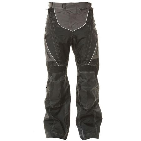 Xelement Xelement B4402 Men's Black Advanced Level-3 Tri-Tex Fabric Motorcycle Pants Black -