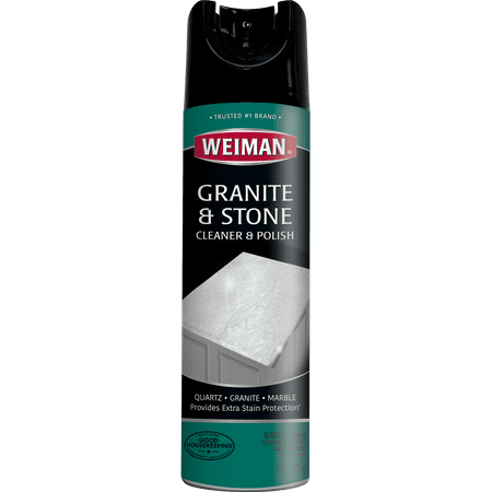 Weiman Granite Cleaner & Polish Aerosol, 17 oz (Best Cleaner For Granite Headstone)
