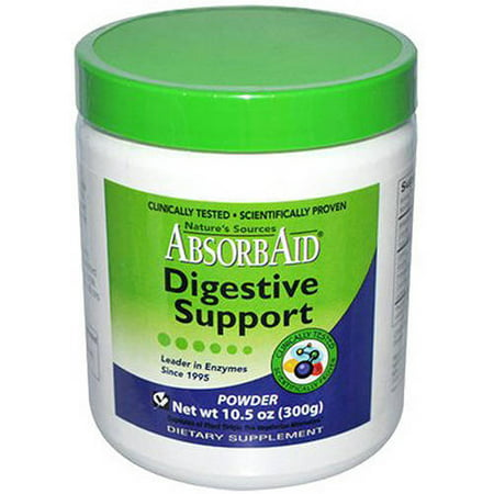 Image of Absorbaid Natural Digestive Support Powder, 300 GM