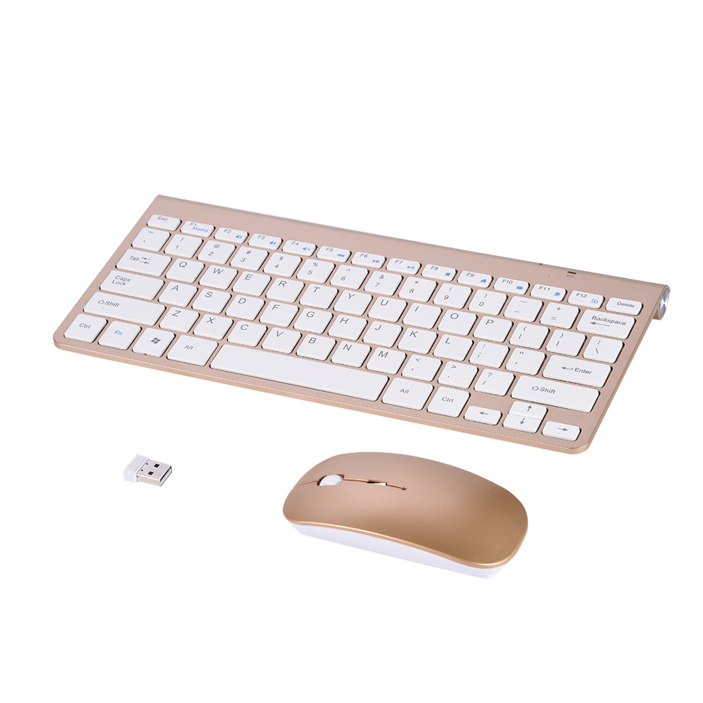 Lv. life Slim Waterproof 2.4GHz Wireless Keyboard and Mouse Kit for Desktop Laptop, keyboard and mouse kit,keyboard