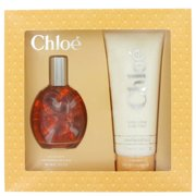 CHLOE by Chloe Gift Set -- 3 oz Eau De Toilette Spray + 6.8 oz Body Lotion for Women