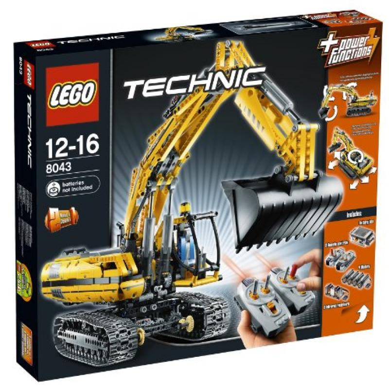 Lego Technic 8043 Motorized Excavator Power Functions by