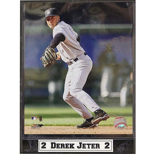MLB Derek Jeter Photo Plaque, 9x12