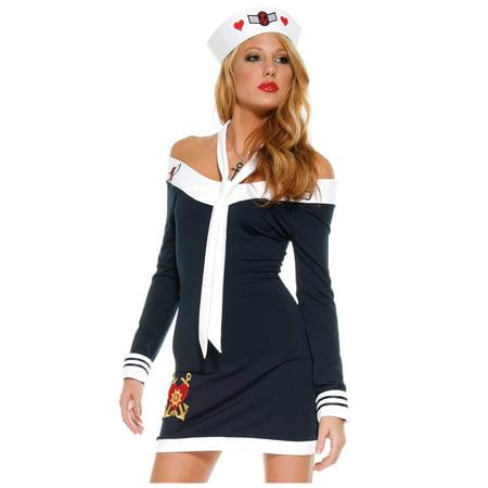 Sexy Sailor Dress - Sailor Heels