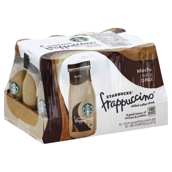 Starbucks® Frappuccino® Mocha Chilled Coffee Drink 12-9.5 fl. oz. Bottles