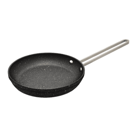 THE ROCK by Starfrit Personal Fry Pan with Stainless Steel Handle, 6.5