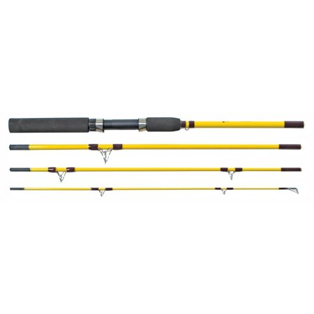 Eagle Claw Pack Rod Spin, 6' 6