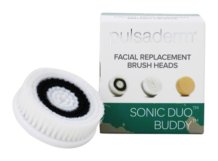 Nourish Facial Cleansing Brush With Replacements Sensitive Head, 3 Ea, 2 Pack Energy Facial Ultrasonic Rejuvenation Skin Scrubber Peeling Device