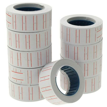 Self Adhesive Labels (For Store Labels White Self Adhesive Roll Price Sticker)