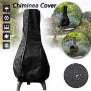 Patio Chiminea Cover Waterproof Protective Chimney Fire Pit Heater Cover Weatherproof for Outdoor Garden