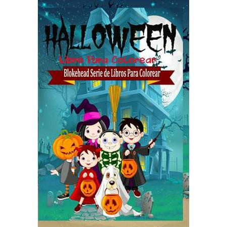 Halloween Libro Para Colorear - Halloween Para Colorear Fantasmas