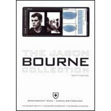 Jason Bourne Collection, The (Widescreen) (Robert De Niro Jason Statham Clive Owen)