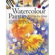 Search Press Books Watercolour Painting Step-By-Step