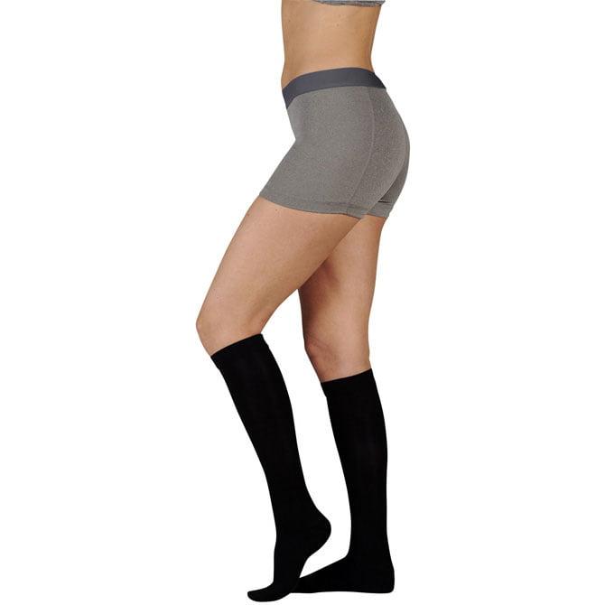 Juzo 4201 Basic Ribbed Knee High Socks -20-30 mmHg  Reg JUZO4201AD-P