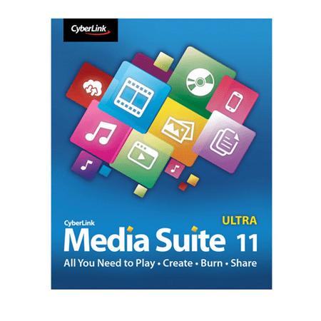 CyberLink Media Suite 11 Ultra Electronic