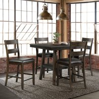 Picket House Furnishings Reid 5PC Counter Height Dining Set-Table & Four Chairs
