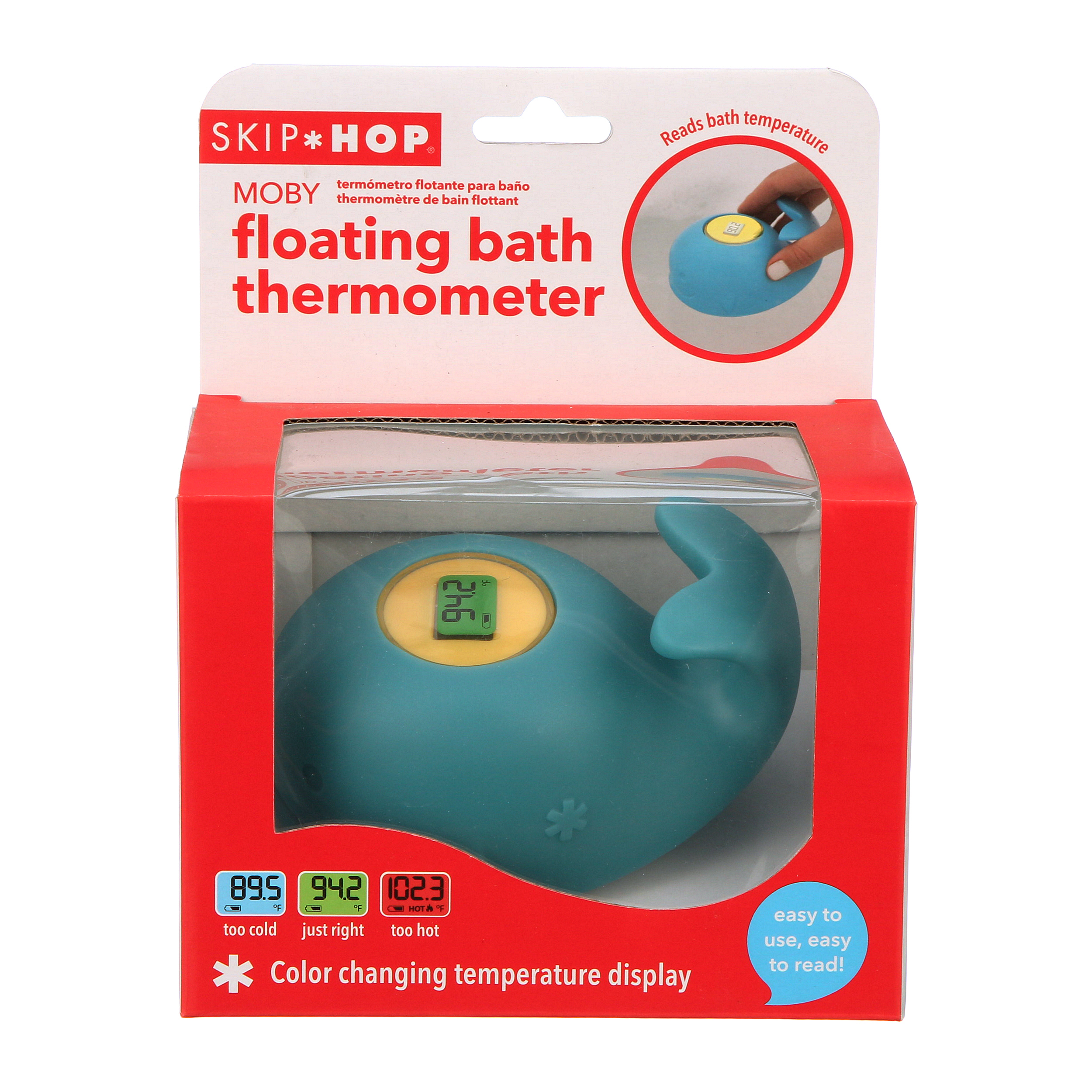 Skip Hop Moby Baby Floating Bath Thermometer