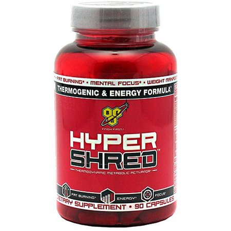 BSN Hyper Shred Thermodynamique métabolique Activator capsules, 90 count