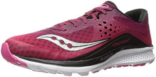 Saucony Women's Kinvara 8 Running Shoe, Berry/Pink, 10.5 M US