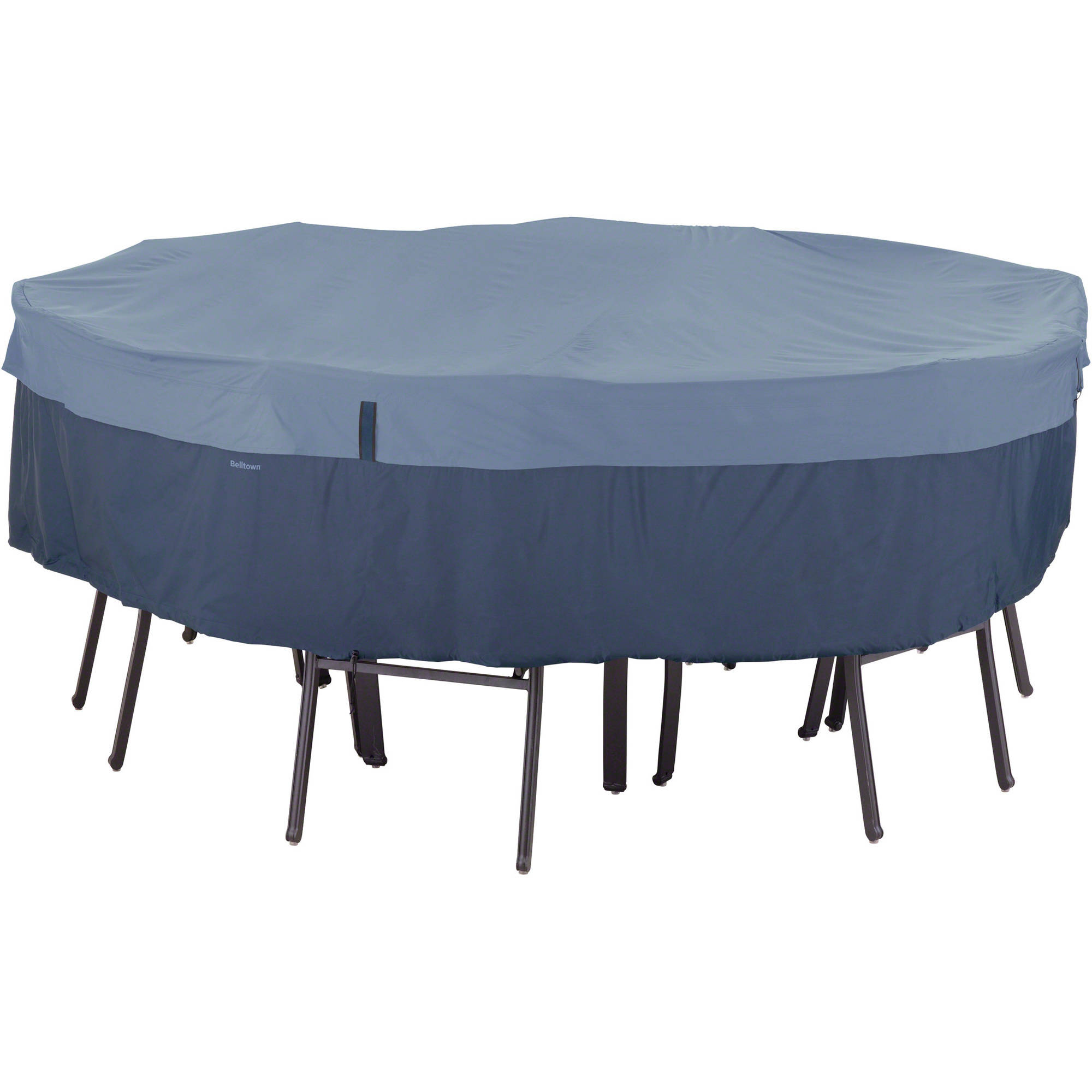 Classic Accessories Belltown Round Table and Chair Patio Furniture Storage Cover, Large,... by Classic Accessories