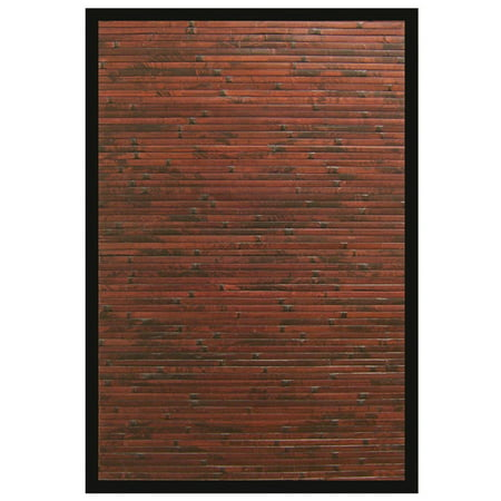 Villager Bamboo Rug - Bamboo Bamboo Collection Area Rug in Multiple Color and Rectangle Shape