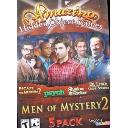 AMAZING HIDDEN OBJECT GAMES: MEN OF MYSTERY 2 (5 Great Games) - New Halloween Hidden Object Games