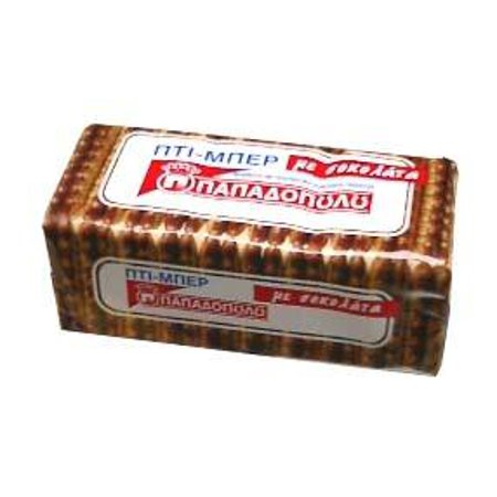 Petit Beurre with Chocolate (Papadopoulos) 200g