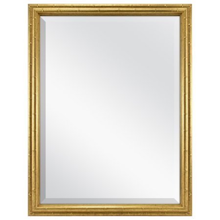 Better Homes & Gardens Bamboo Gold Finish Mirror, 20