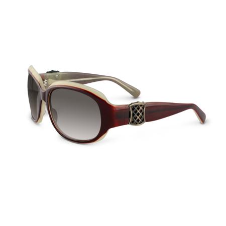 Sama Aziza Sunglasses 61 Crimson 61   Desert