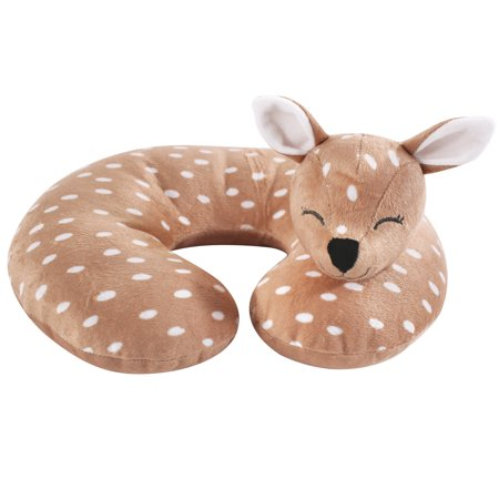 Hudson Baby Boy and Girl Travel Neck Support Pillow, Fawn