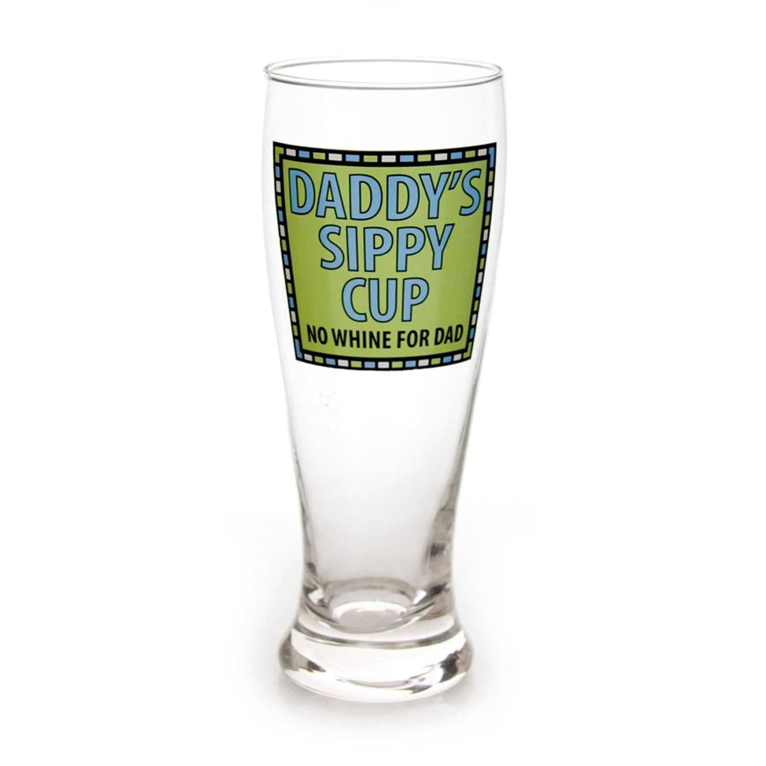 Enesco Our Name is Mud Daddy Sippy Cup Pilsner, Multicolor by Enesco