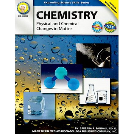 Chemistry, Grades 6 - 12 : Physical and Chemical Changes in (Examples Of Physical And Chemical Changes For Kids)