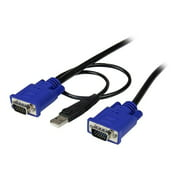 STARTECH SVECONUS6 6' 2-in-1 Usb and Vga Kvm Switch Ultra Thin Cable