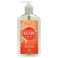 ECOS Hypoallergenic Hand Soap, Orange Blossom, 17 Oz