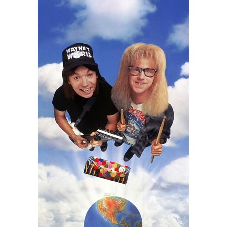 MIKE MYERS; DANA CARVEY. Wayne's World