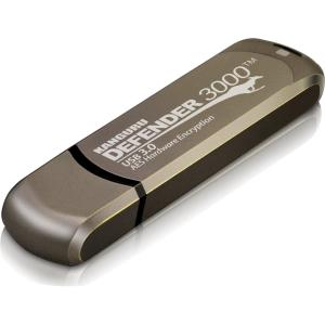 128GB DEFENDER 3000 FLASH DRIVE SECURE USB FIPS 140-2 ENCRYPTED