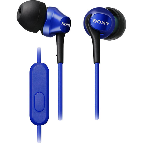 Sony In-Ear Headphones For Android Phones - Blue (MDREX100AL)