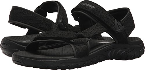Skechers Mens Relaxed Fit Reggae Tulo Black 9 D - Medium