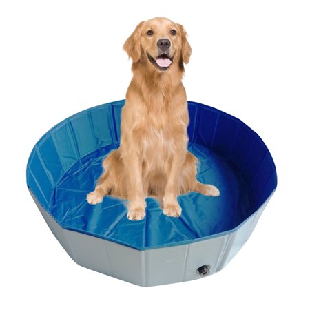 Foldable Pet Bath Pool Collapsible Dog Pool Pet Bathing Tub Pool For Dogs Cats Walmart Canada