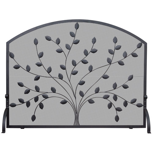 Uniflame Corporation Single Panel Wrought Iron Fireplace Screen by Blue Rhino Global Sourcing, LLC