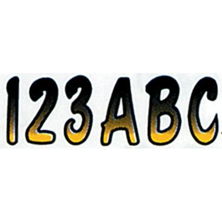 Hardline Letter Number Kit - Hardline 3