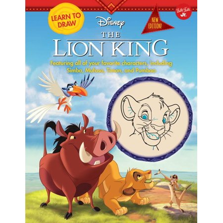 Learn to Draw Disney The Lion King : New edition! Featuring all of your favorite characters, including Simba, Mufasa, Timon, and Pumbaa - Disney Character Ideas For Dressing Up