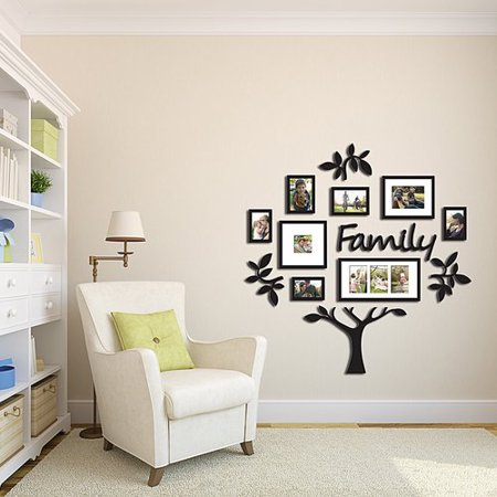 Winston Porter Pelican Way 9 Piece Family Tree Picture Frame Set