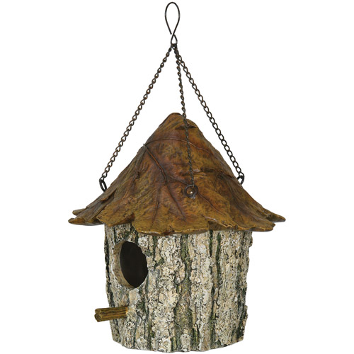 Rivers Edge Products Oak Tree Leaf Birdhouse by Rivers Edge Products