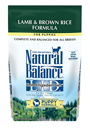 Natural Balance LID Lamb & Rice Dry Puppy Food 4.5 lbs by Natural Balance