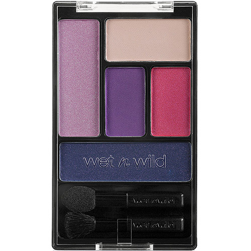 Wet n Wild Color Icon Eyeshadow Palette, 393A Floral Values, 0.21 oz