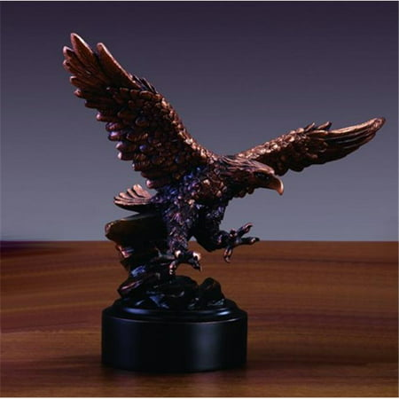 Treasureof Nature Bronze Finish Flying American Eagle Statue
