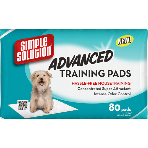Simple Solution Advanced Training Pads, 80ct