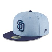 3ac93579a4e98 Product Image San Diego Padres New Era 2018 Father s Day On Field 59FIFTY  Fitted Hat - Light Blue
